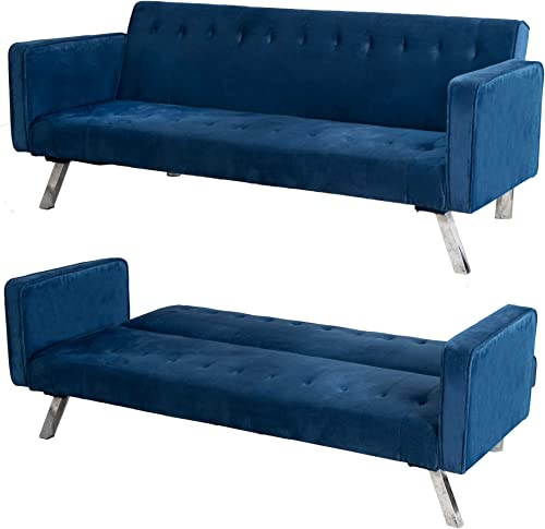 GOOD GRACIOUS Velvet Sofa Couch Bed