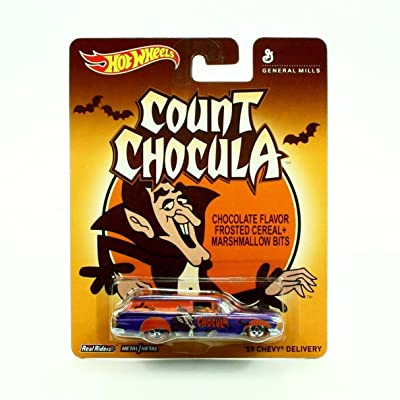 General mills hot wheels count chocula '59 chevy delivery: Toys & Games