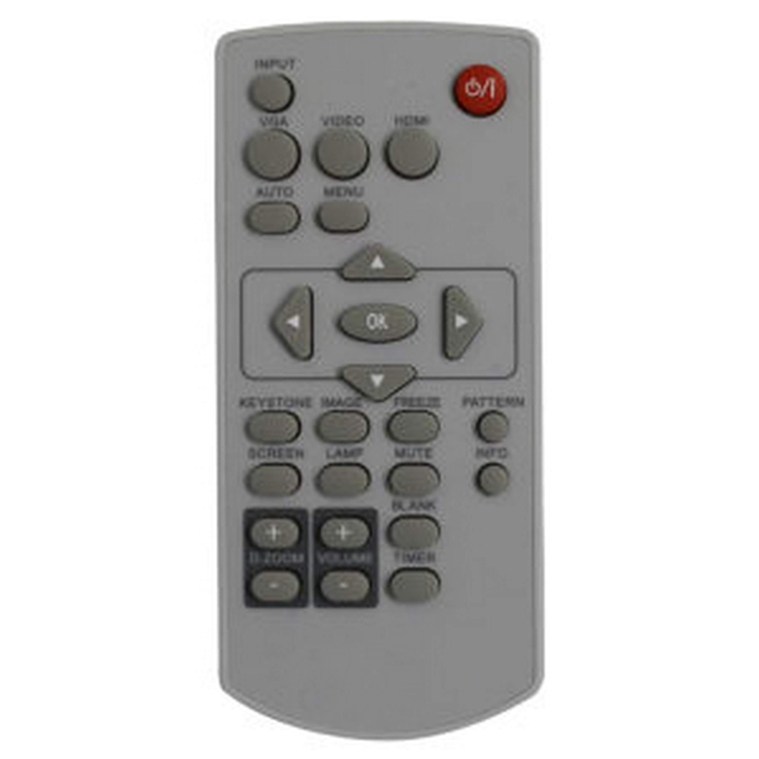 Eiki 63910016 Remote Control for EK-305U, EK-303U, EK-301W, EK-302X, EK-100W, EK-101X, EK-102X and EK-103X Video Projectors by Eiki