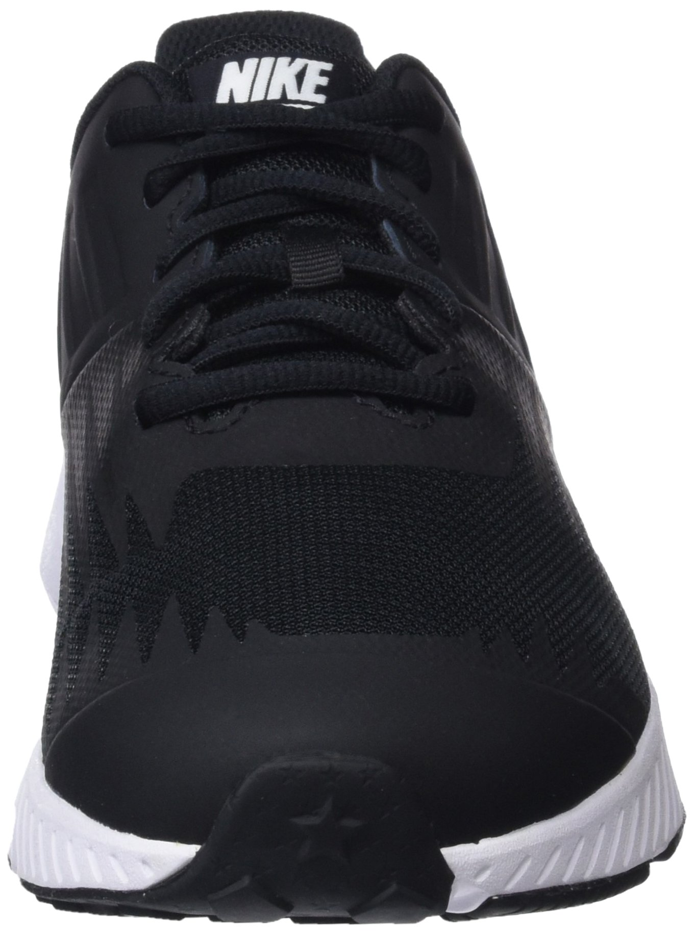 Nike Kids' Grade School Star Runner Running Shoes (3.5, Black/White) by Nike (Image #4)
