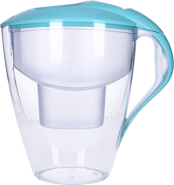 DAFI Astra Jarra de Agua Filtrada 3L con 2 cartuchos + Botella del Agua Deporte 0.6L, Sin BPA, Menta: Amazon.es: Hogar