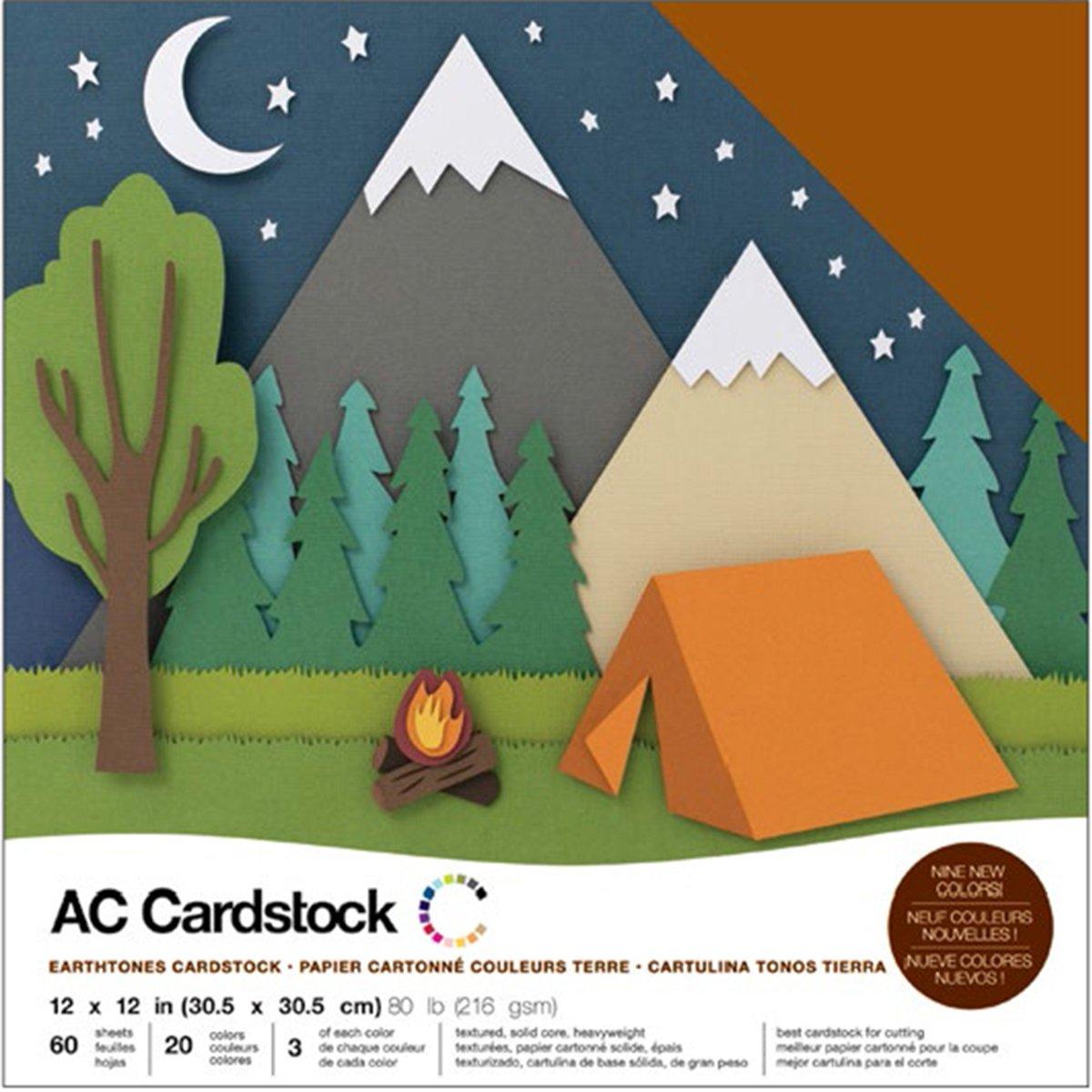 American Crafts カードストック 12×12インチ B01N2YO1RH