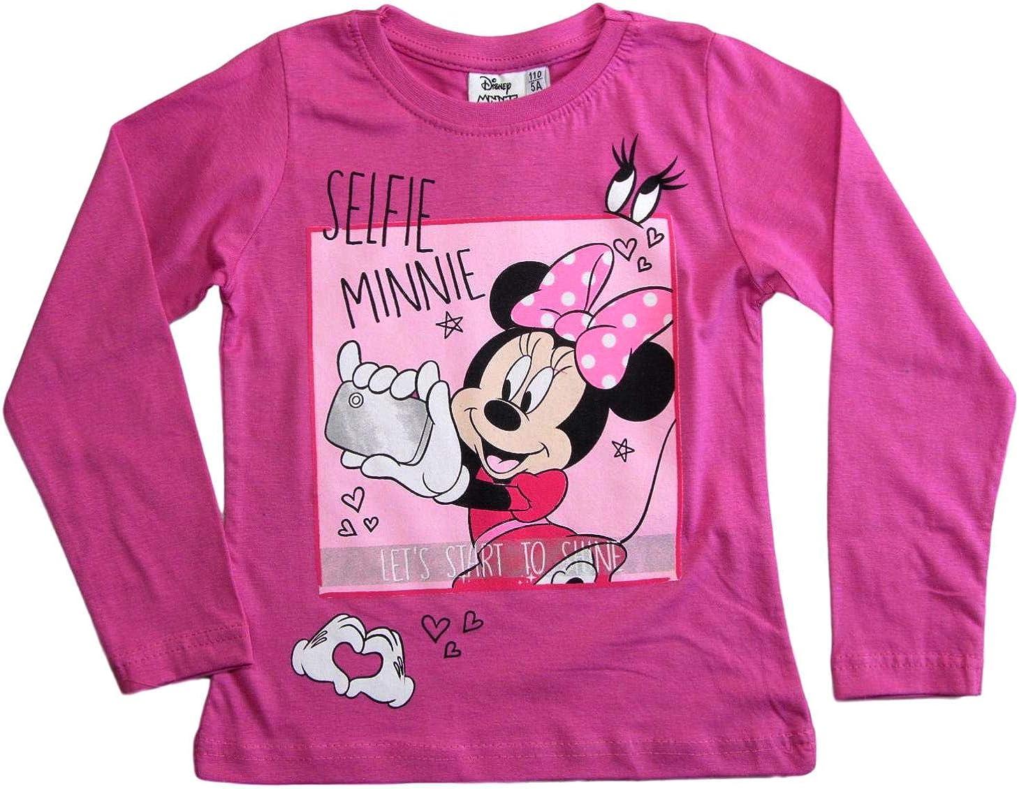 Minnie Mouse Maglia a Maniche Lunghe da Ragazza