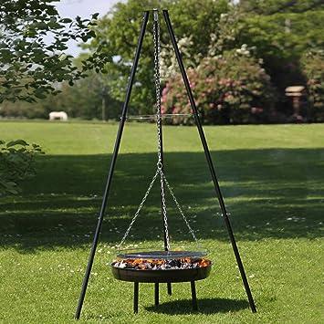 Trpied Foyer DExtrieur Et Barbecue Grill Ajustables Hauteur Par