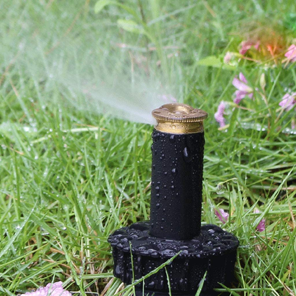 Junlinto Auto Professionale 90-360 Gradi Regolabile Pop-up irrigazione Giardino ugello spruzzatore sprinklers irrigazione Prato Giardino Strumenti di irrigazione 180 Gradi