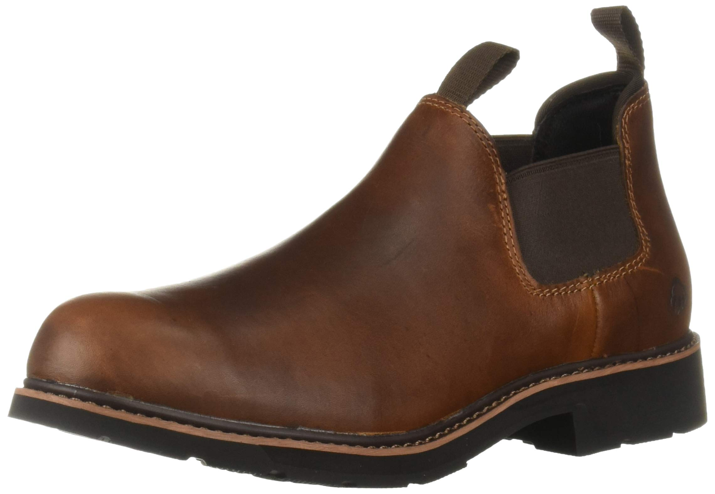 Wolverine Men's Ranchero Romeo Industrial Shoe,Peanut,7 Extra Wide US by Wolverine