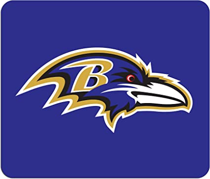 Amazon Com Nfl Baltimore Ravens Mouse Pads Sports Fan Mouse Pads Sports Outdoors