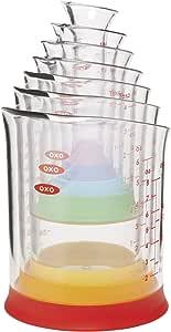 OXO Good Grips 7-Piece Nesting Measuring Beaker Set