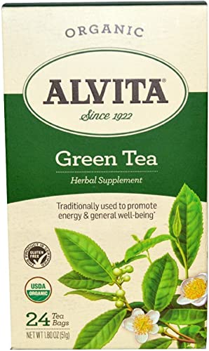 ALVITA Tea,OG2,Green, 24 Bag, 2 Pack