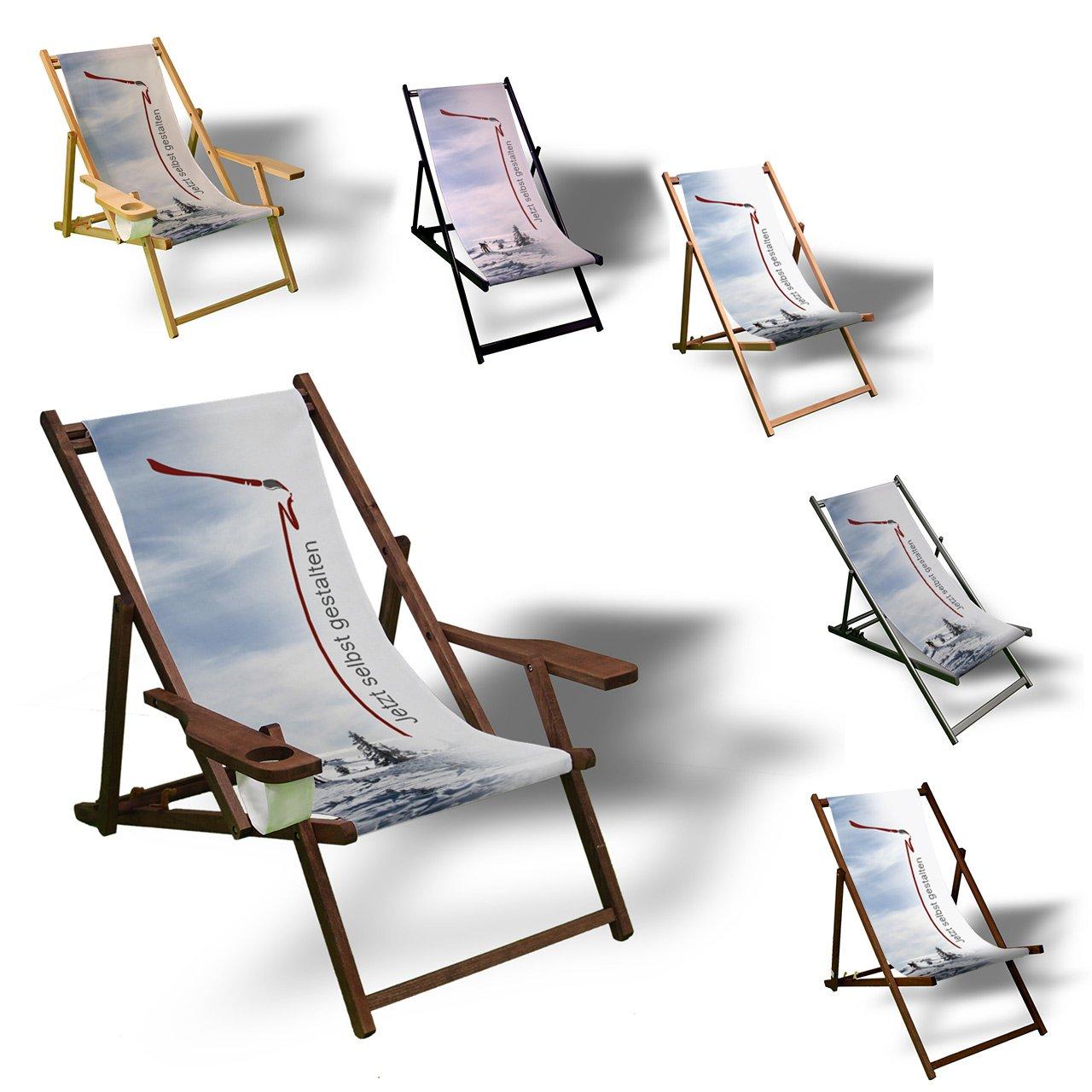 Amazon.de: Liegestuhl zum selbst gestalten - Sonnenliege Balkon ...