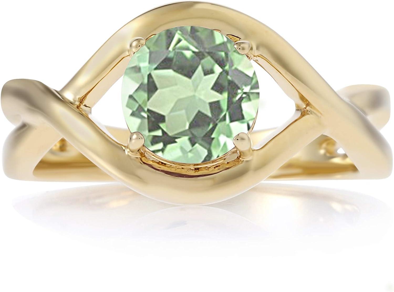 Blue Quartz ring Rose Gold Fill Jewelry 925 sterling silver Ring Cushion Blue Quartz Gemstone Ring 14K Yellow Gold Fill