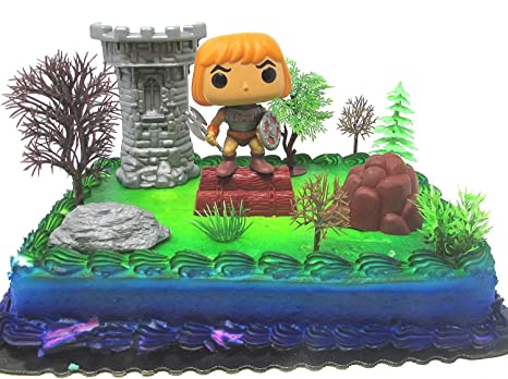 Amazon Masters Of The Universe Deluxe HE MAN Cake Topper Set