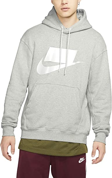 Omitido Gángster brecha  Amazon.com: Nike Sportswear NSW Men's French Terry Pullover Hoodie: Clothing