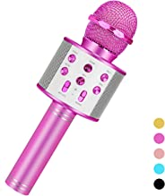 Toys For 3-16 Years Old Girls Gifts,Karaoke Microphone For Kids Age 4-12,Best Fun Birthday Gifts For 5 6 7 8 9 10 11 Years T