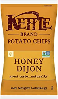 product image for Kettle Brand Potato Chips, Honey Dijon, 5 Ounce