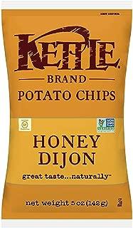 product image for Kettle Brand Potato Chips, Honey Dijon Bags, 5 Ounce (Pack of 15)