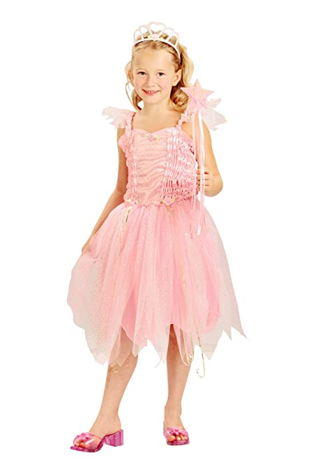 Disfraz hada princesa rosa niña - 4 - 6 años: Amazon.es ...