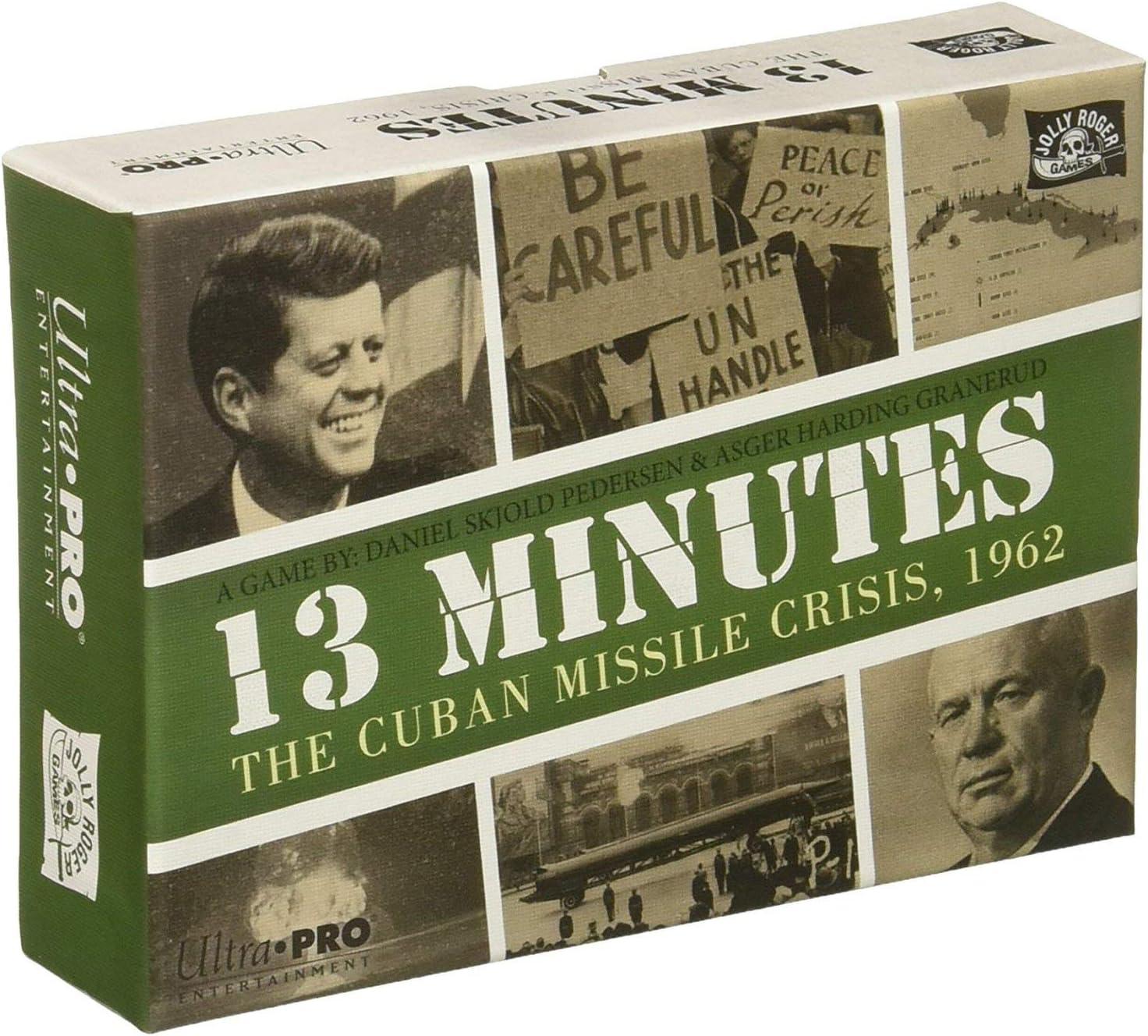 Ultra Pro 11963 13 Minutos: la Crisis de misiles de Cuba, 1962: Amazon.es: Juguetes y juegos