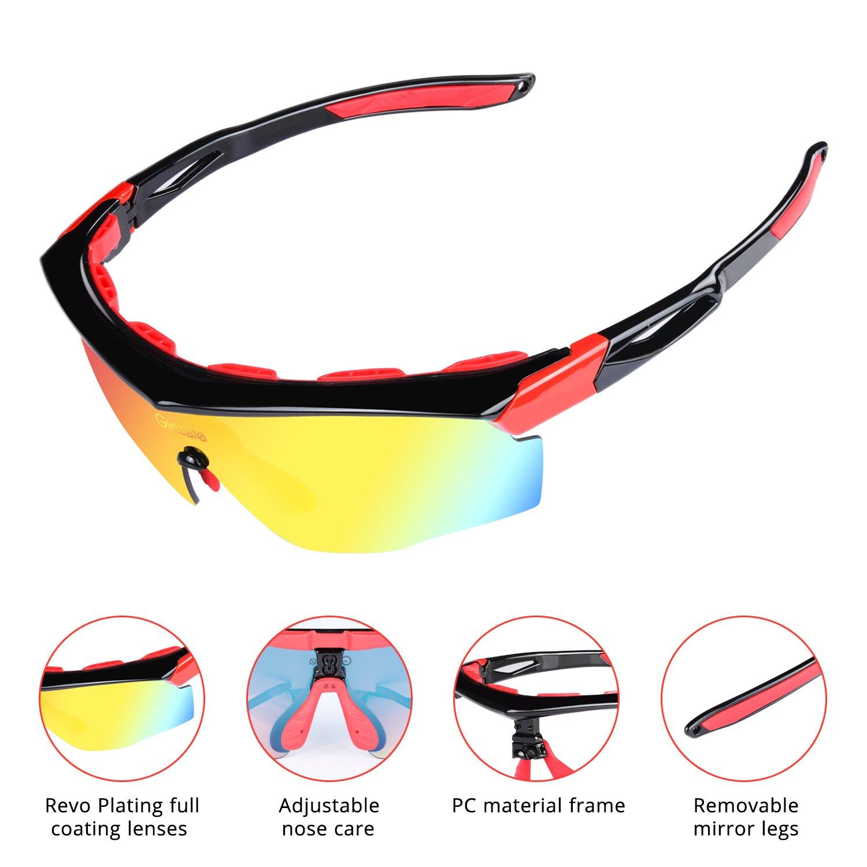 063f006baf Amazon.com  Sports TR90 Sunglasses
