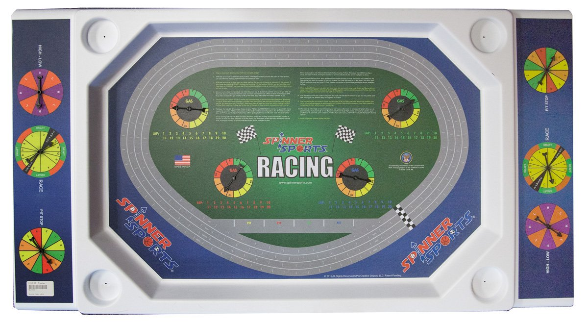Tailgate Racing Table by Spinner Sports