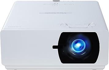 Viewsonic Ls800hd Laser Dlp Beamer Full Hd 5 000 Ansi Lumen 3x Hdmi Usb 1 65x Optischer Zoom 24 7 Betrieb Weiß Heimkino Tv Video
