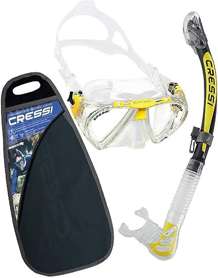 Cressi C/Set Penta + Alpha/ud Pack de Snorkel, Unisex ...