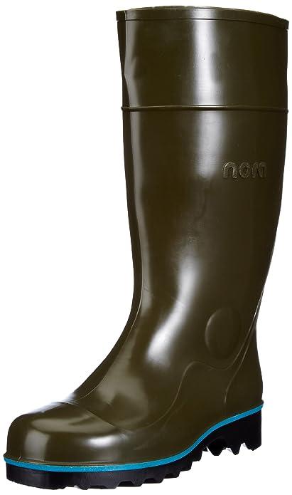 Multi-Jan 75457 - Calzado de protección unisex, color verde, talla 47 Nora