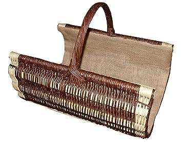 Chimenea – Cesta de mimbre hechas a mano. Cesta con un mango Decoración Varios Modelos