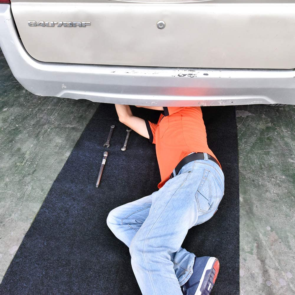 Maintenance Mat for Under Car or Equipment, Soft and Comfortable,Absorbent,Waterproof,Reusable,Washable,Protect Floor Clean(Maintenance Mat:36inches x 60inches)