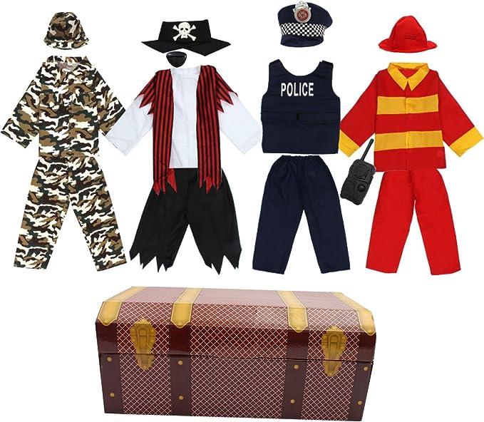 Amazon.com: Toiijoy - Disfraz de trunk para niños, 15 piezas ...
