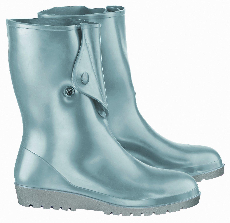 ONGUARD 52800 Polyblend Women's Plain Toe Comfort Boots, 9'' Height, Black, Size 6