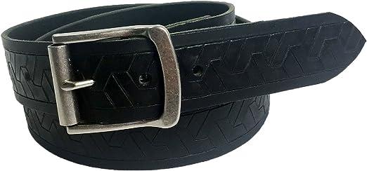 Mens Handmade Genuine Solid Buffalo Leather Belt