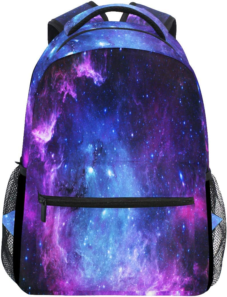 Galaxy School Backpack Bookbag Casual Daypack Travel Laptop Backpack School Bag Shoulder Bag for Girls Women Teenagers