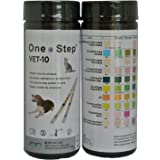 Dog, Cat Pet Urine Parameter Test Strips for pH, Infection, Diabetes Test Sticks - 50 strips per tub