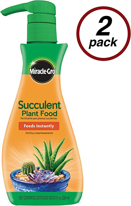 Top 9 Miracle Gro Succulent Food
