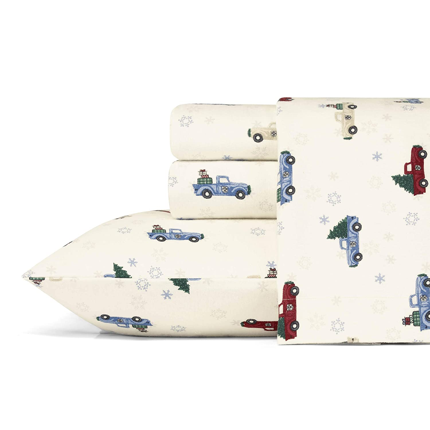 Buy Eddie Bauer Winter Outing Flannel Sheet Set King Online At Low Prices In India Amazon In
