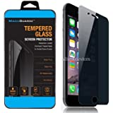 """MagicGuardz, Made for Apple 5.5"""" iPhone 7 Plus, Privacy Anti-Spy Tempered Glass Screen Protector Shield, Retail Box"""