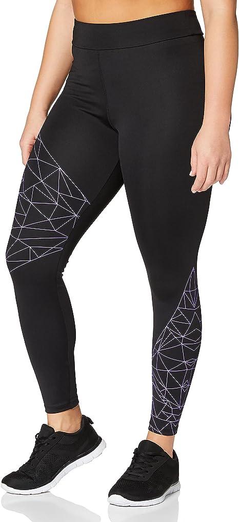 AURIQUE Women's Optic Print Yoga Legging