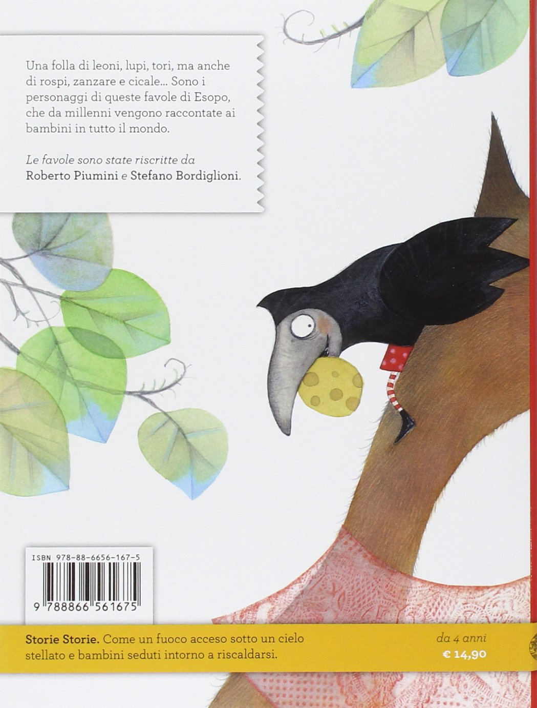 Favole Di Esopo 9788866561675 Amazoncom Books