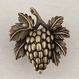 product image for Acorn Manufacturing DQ5AP Artisan Collection Grapevine Knob44; Antique Brass