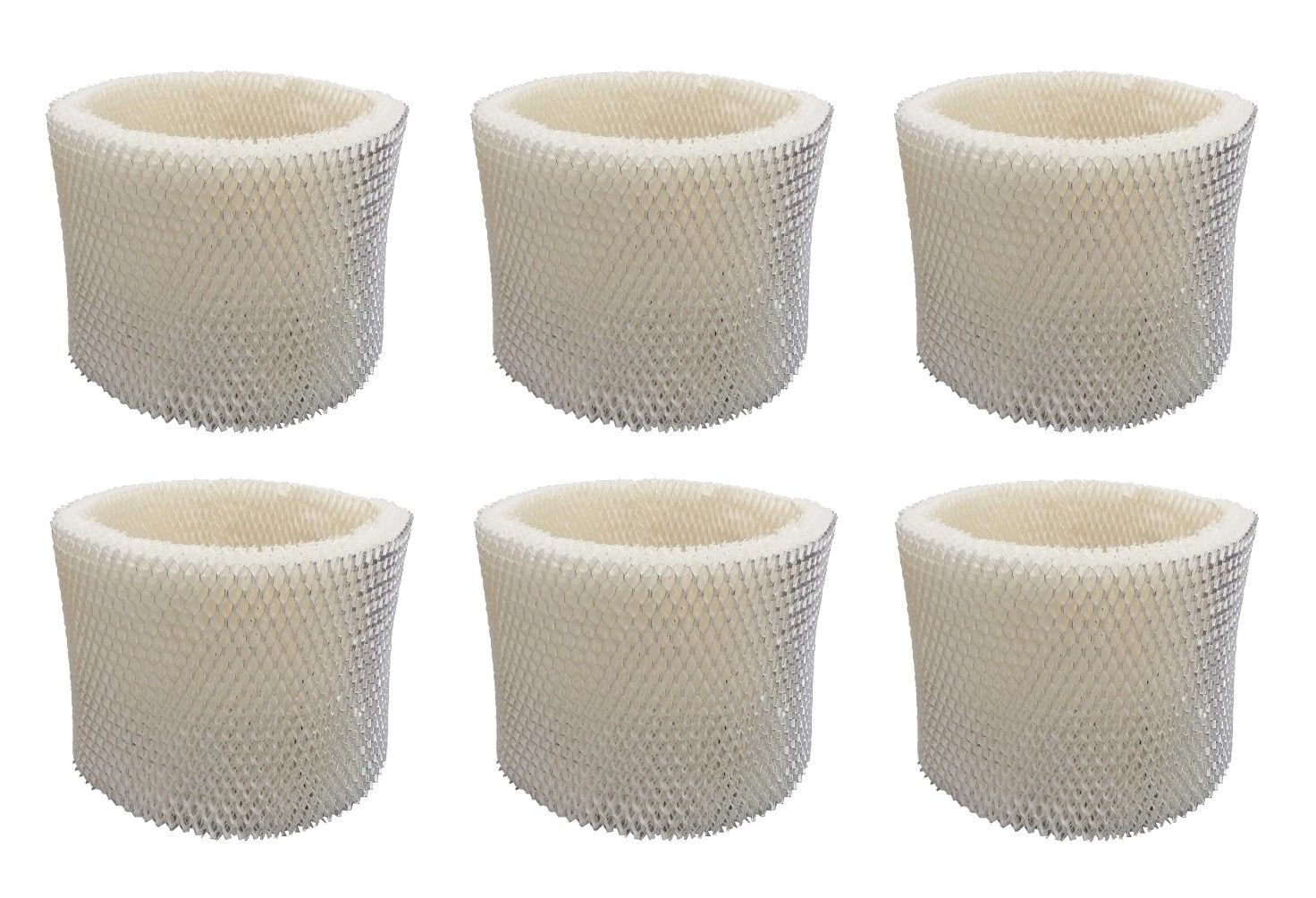 Tosva 6 PACK Replacement Wicking Humidifier Filter for Honeywell HC-14V1 Filter E