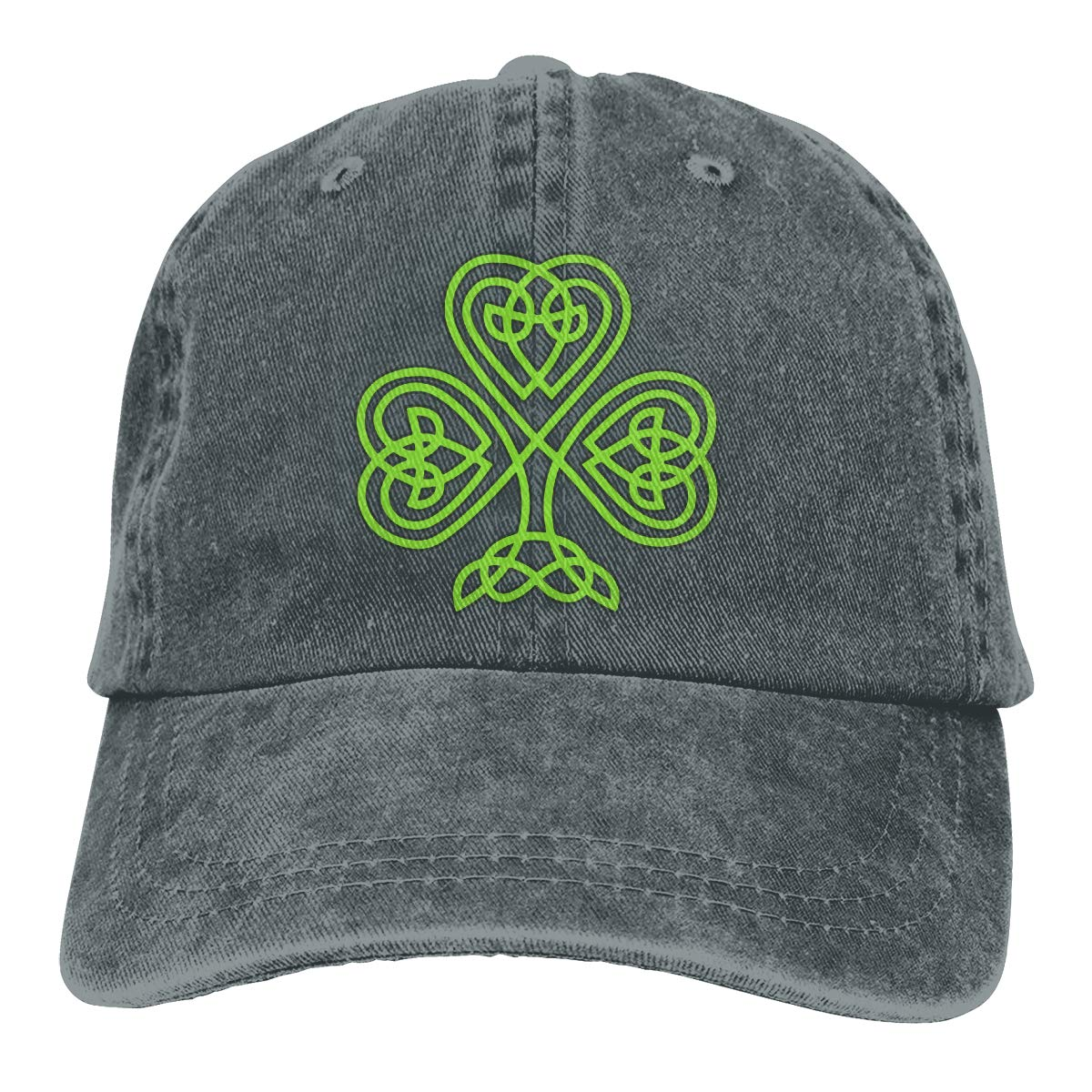 Shamrock Love Unisex Adult Cowboy Hat Sun Hat Adjustable Truck Driver Hat