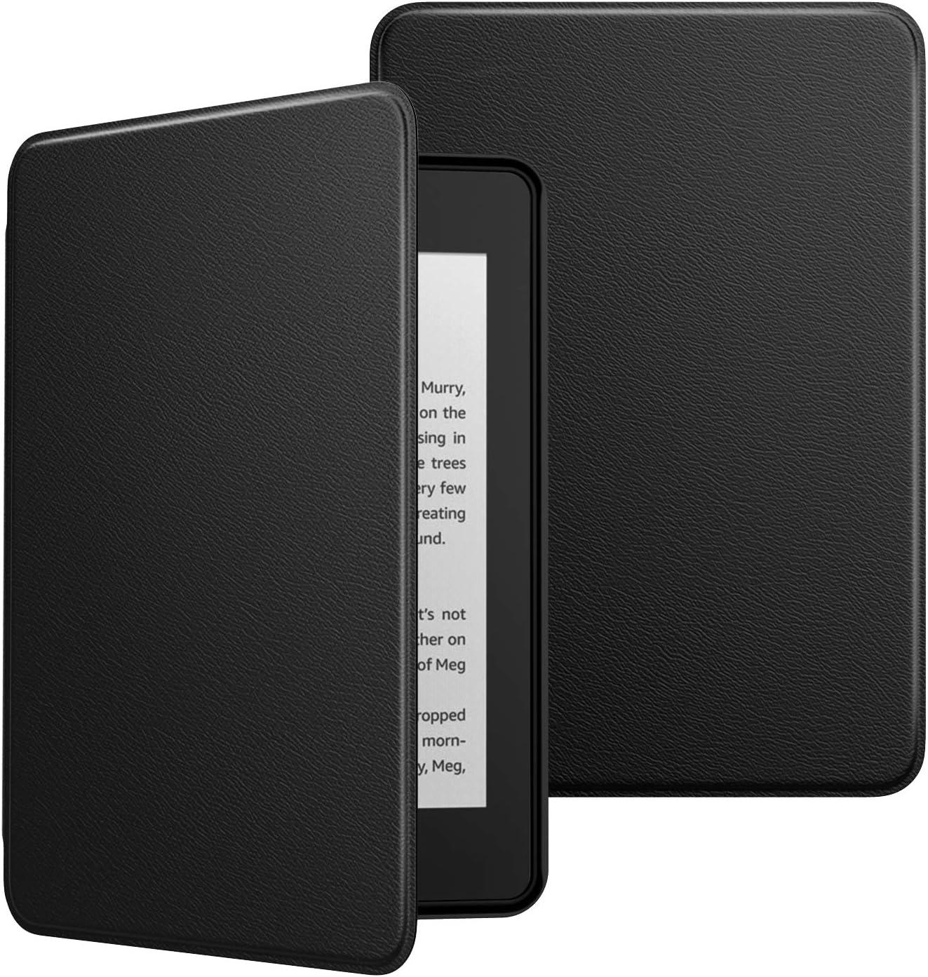 MoKo Funda para Kindle Paperwhite 10th Generation, 2018 Releases Ultra Delgada Ligera Smart-Shell Soporte Cover Case para  Kindle Paperwhite E-Reader Blanco