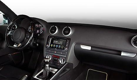 Radical R C10ad1 Mit 7 Touchscreen Infotainment Autoradio Passend Für Audi A3 Android 7 1 Os Vorbereitet Für Navigation Fm Radio Bluetooth Usb Easyconnect Lenkradfernbedienung Navigation