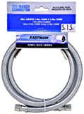 Eastman 41033 Stainless Steel Icemaker Connector