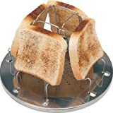 Ezyoutdoor Toast RACK Camp Stove Toaster Folding Breakfast Toast Sandwich for Outdoor Camping Bivouac Picnic Outdoor Activities and folding cups