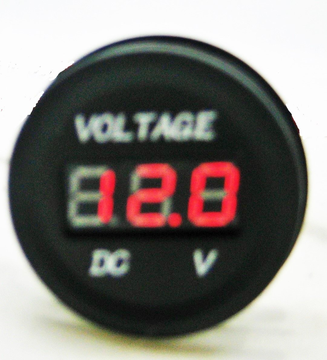 Stackable Low Battery Voltage Monitor 12V Bank Detector Discharge Voltmeter Alarm w/Mute switch #btm12