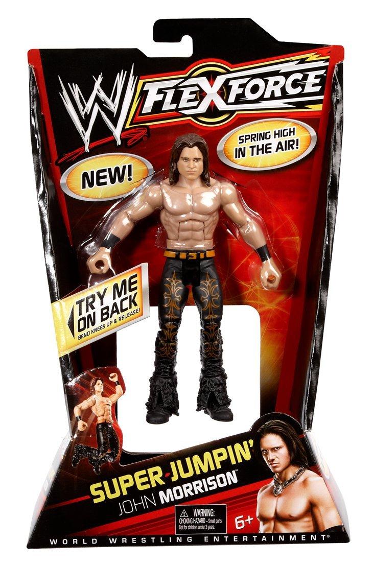 Mattel WWE Flexforce Super Jumpin 'John Morrison Action Figur