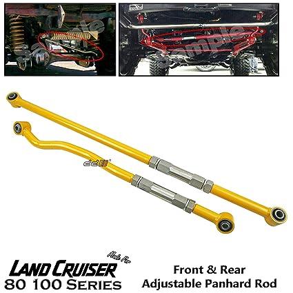 Front Rear Adjustable Panhard Rod Bar Fit Toyota Land Cruiser 80 100 105  Series