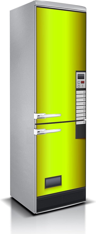 Vinilo para Frigorífico Maquina expendedora Varias Medidas 185x60cm | Adhesivo Resistente y de Facil Aplicación | Pegatina Adhesiva Decorativa de Diseño Elegante
